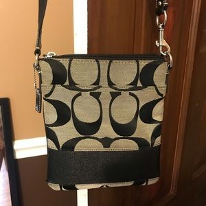 COACH Black Crossbody